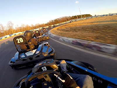 GoPro Helmet Cam - Record Your Race