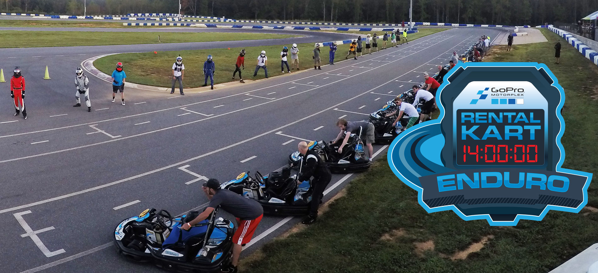 14-Hour Rental Kart Team Enduro, Sept. 21-22