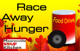 RACE AWAY HUNGER FALL FOOD DRIVE